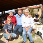 Domenica 27 settembre 2015 si è svolto il tradizionale Pranzo Sociale a Montegonzi pro C.A.L.C.I.T. Valdarno: nelal foto Roberta Soldani, Piero Secciani, Gianfranco Donato, Renato Salusti.
