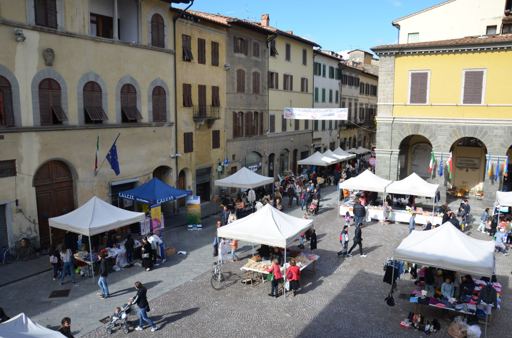 Domenica 11 Ottobre 2015 si è tenuta la 15a Edizione del Mercatino dei Ragazzi a Montevarchi, in Piazza Varchi ed in Via Roma.