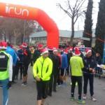 1° Christmas Run 20 dicembre 2015 : immagini di sport e solidarietà con Luca Panichi.