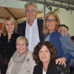 Cena di Beneficienza PRO C.A.L.C.I.T. Valdarno organizzata dalla Sezione Locale sabato 08 ottobre 2016: da sinistra la D.ssa Luciana Lastrucci ed il Presidente Piero Secciani.