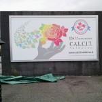18.11.2016: Inaugurazione cartelloni per il 25° C.A.I.C.I.T. Valdarno elaborati dalla 5LA del Liceo Artistico Ist. Magiotti di Montevarchi.