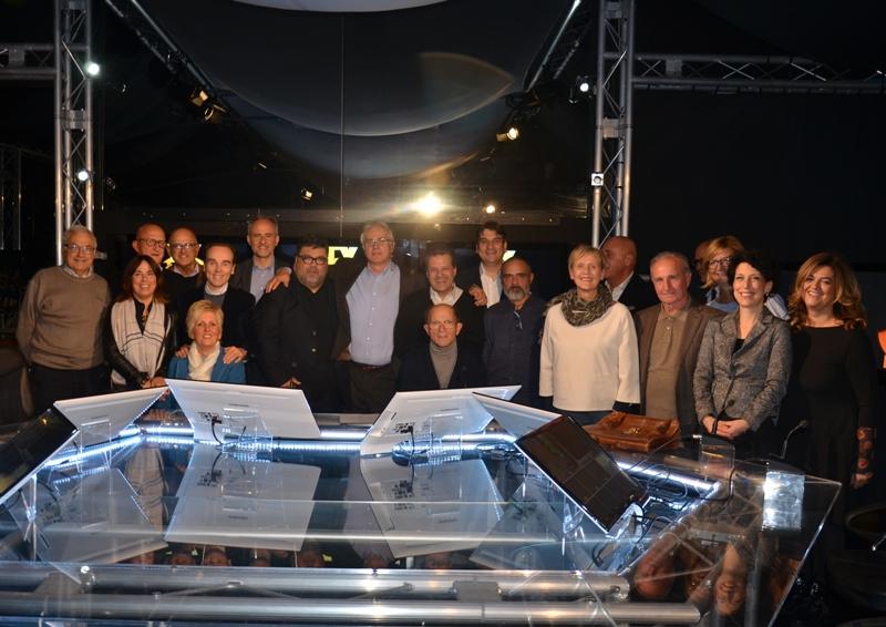 Presentazione nuovo Consiglio C.A.I.C.I.T. Valdarno, negli Studi di TV1 il 30-10-2018