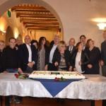 """Presentazione del libro """"Cronache di un quarto di secolo"""" del C.A.L.C.I.T. Valdarno - cena ai Saloni degli Ufizzi di San Giovanni V.no 11.11.2017"""