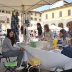 Mercatino dei Ragazzi a Montevarchi 13 Maggio 2018 banco Murgia Sara