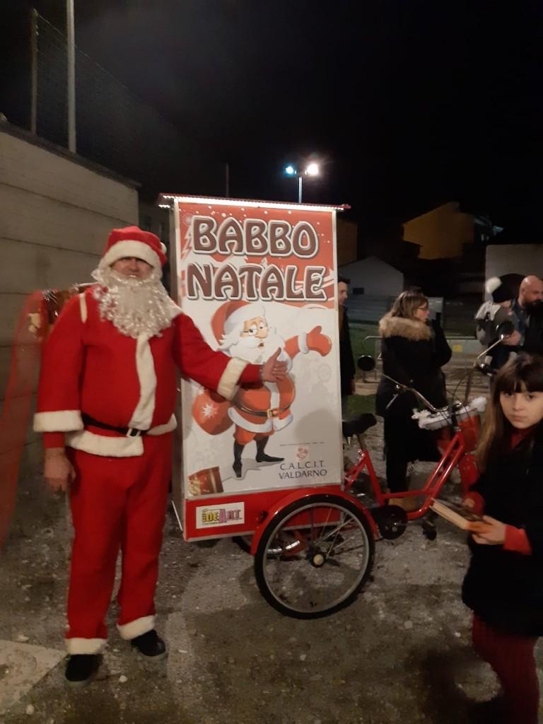 Babbo Natale in bicivela all'Oratorio di Levane - Sabato 21.12.2019
